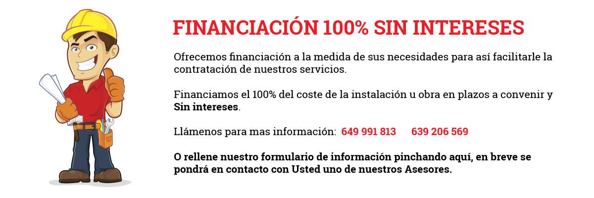 Financiación 100% sin intereses en Fermar instalaciones y servicios